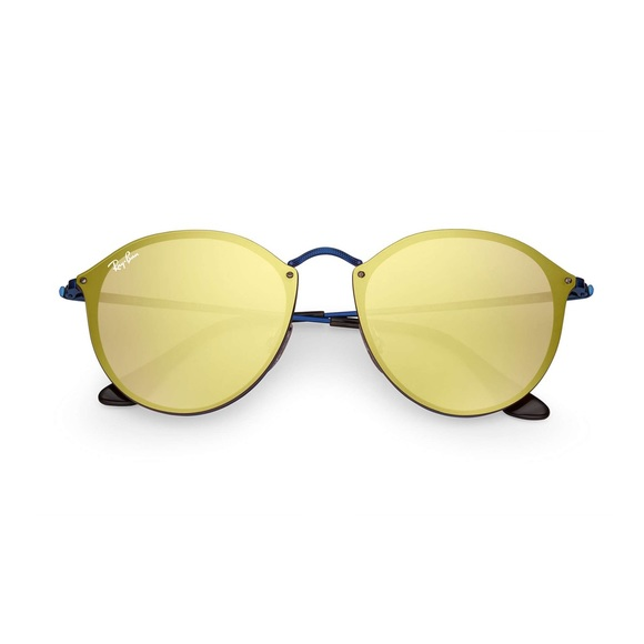 Ray-Ban Accessories   New Rayban Blaze Rb3574 Round Sunglasses ... 331cd82bd3